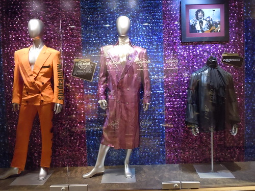 10/03/14 Hard Rock Cafe @ Mall of America, Bloomington, MN  (Prince Outfits)