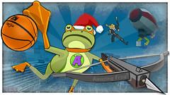 Amazing Frog Xmas Edition