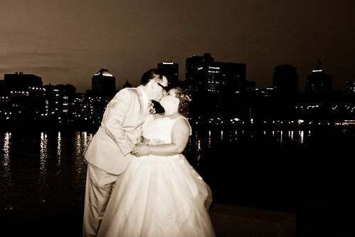 Wedding Black & White, Sepia