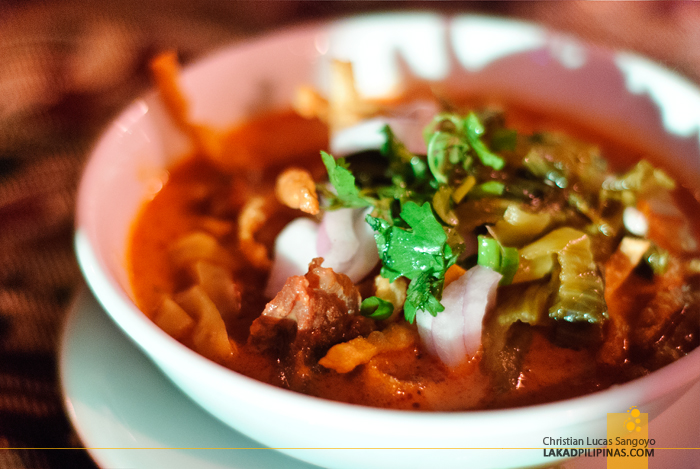 Khao Soi Noodles at the Chiang Mai Night Safari