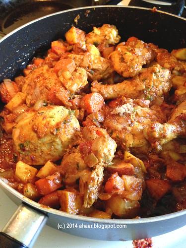 Moroccan Harissa chicken stew