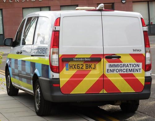Home Office, Immigration Enforcement (HX62 BKJ)