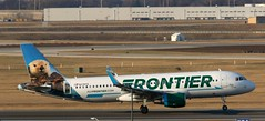 N235FR A320 Frontier ORD