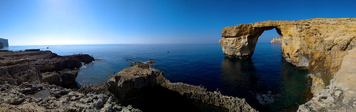 canon eos 70d digital color colorful nice malta sea azure blue sky window rock nature gozo island wonder collapse natural phenomena mountain see destroyed gone view said travel tourism sad light reflection landmark
