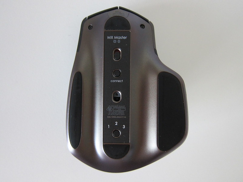 Logitech MX Master Wireless Mouse - Bottom