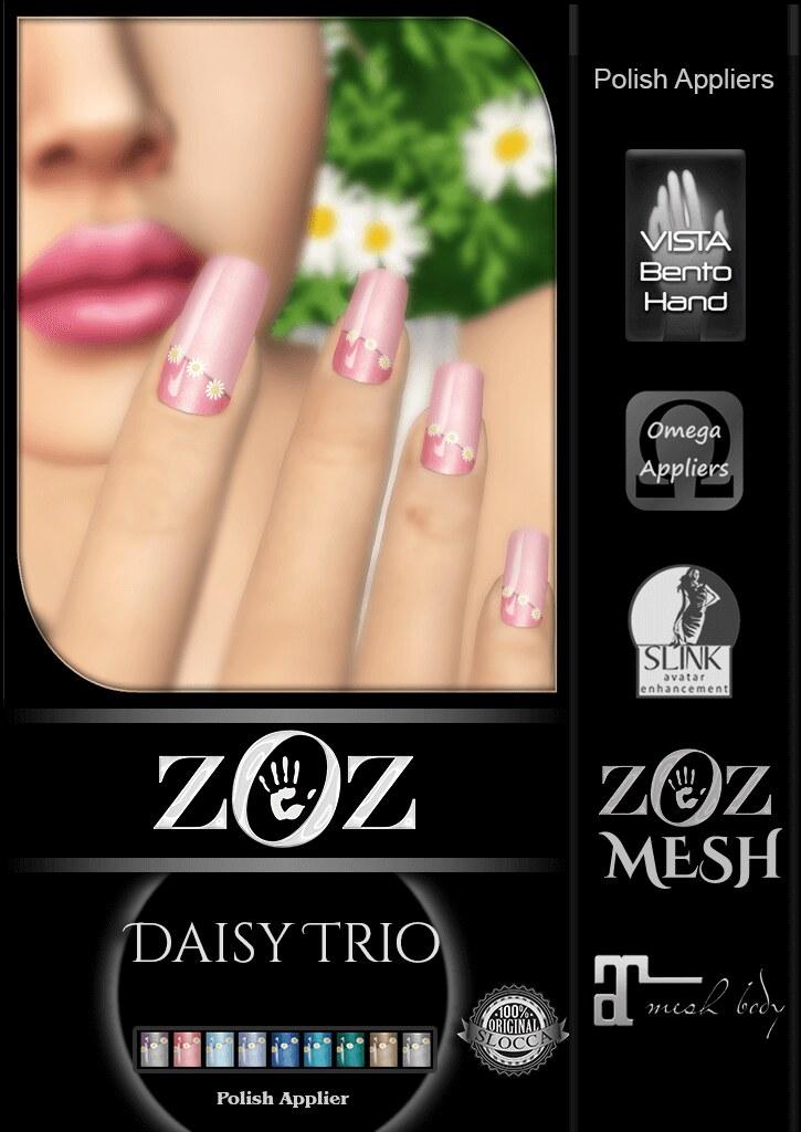 {ZOZ} Daisy Trio pix L - SecondLifeHub.com