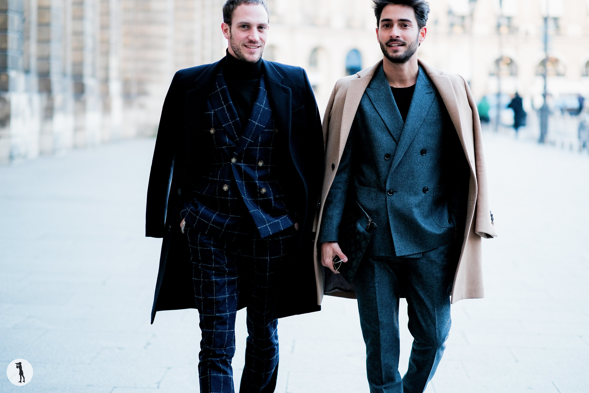 Romain Costa and Raphael Spezzotto-Simacourbe - Paris Fashion Week Menswear FW17-18 (3)