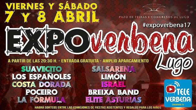 Lugo 2017 - Expoverbena - cartel Televerbena