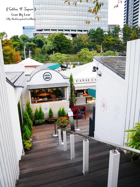 日本東京自由行賞櫻canal cafe水上餐廳 (28)