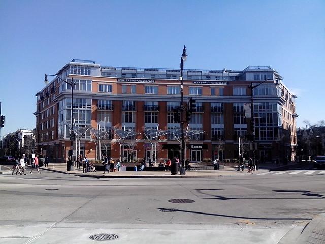 Columbia Heights civic plaza