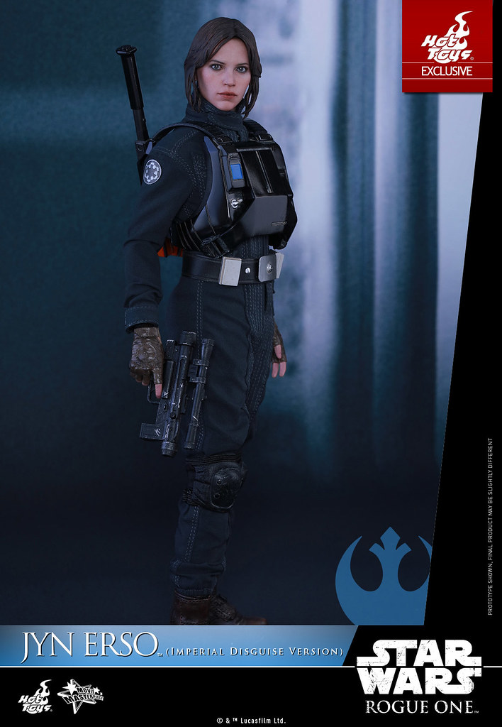 Hot Toys – MMS419 – 《星際大戰外傳:俠盜一號》 - 1/6比例 琴·厄索(帝國偽裝Ver.) Jyn Erso (Imperial Disguise Version)