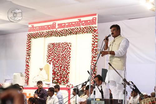 Vijay Bau Shivtare, Minister of Water Recourses, Maharashtra