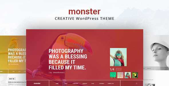 Monster WordPress Theme free download