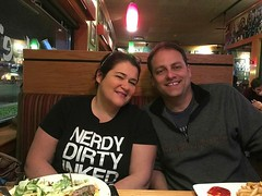 Late night dinner with my brother Peter! Thanking him for doing all the leg work in getting me my new car!  Anyone need a car? Check out www.carcityny2.com #applebees #family #newcar #brother