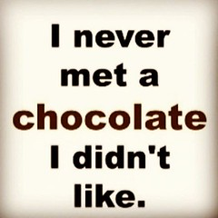Not all chocolate is good chocolate