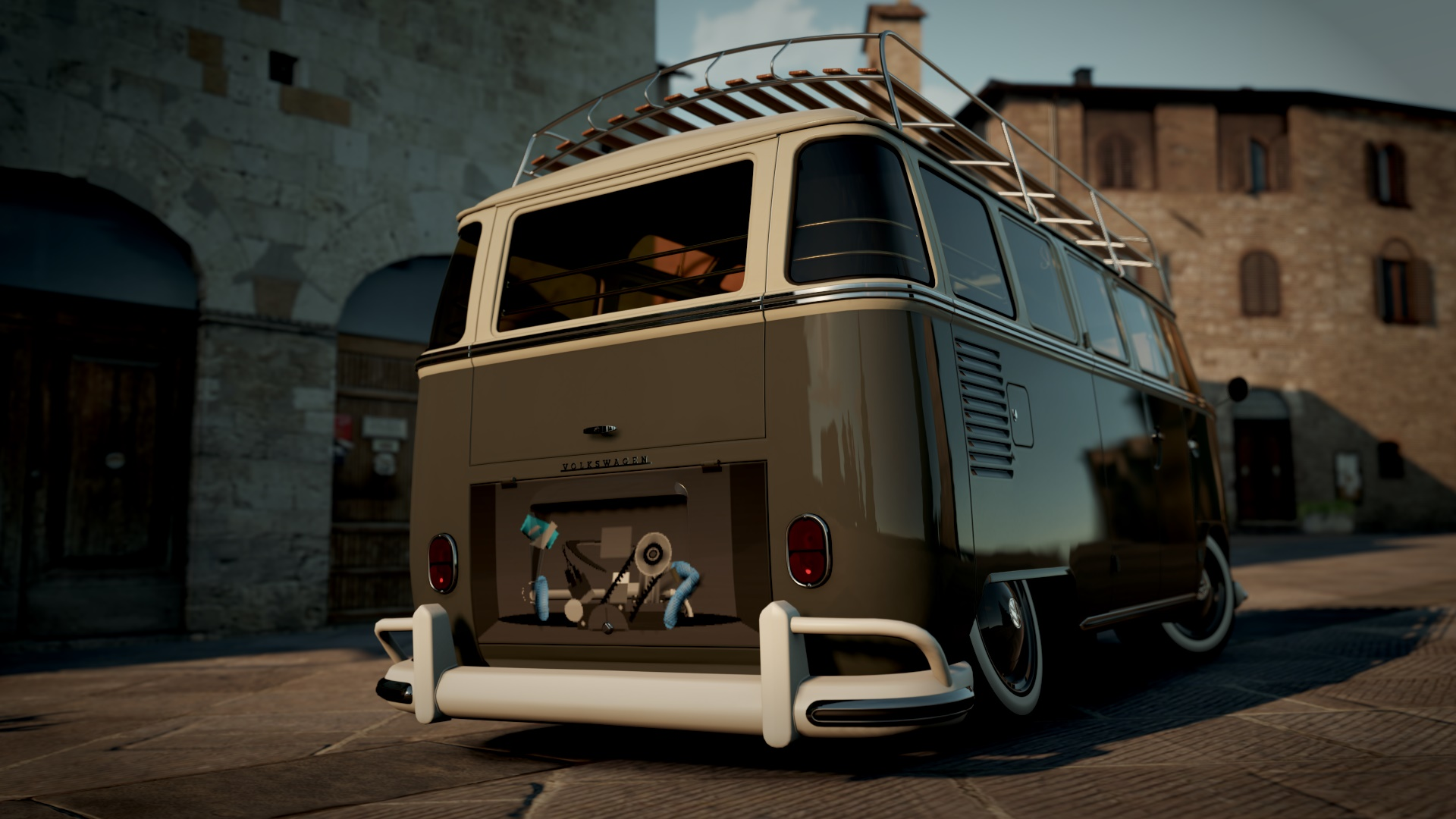 Vw camper engine bay wip fantasy paint booth forza motorsport forums publicscrutiny Image collections