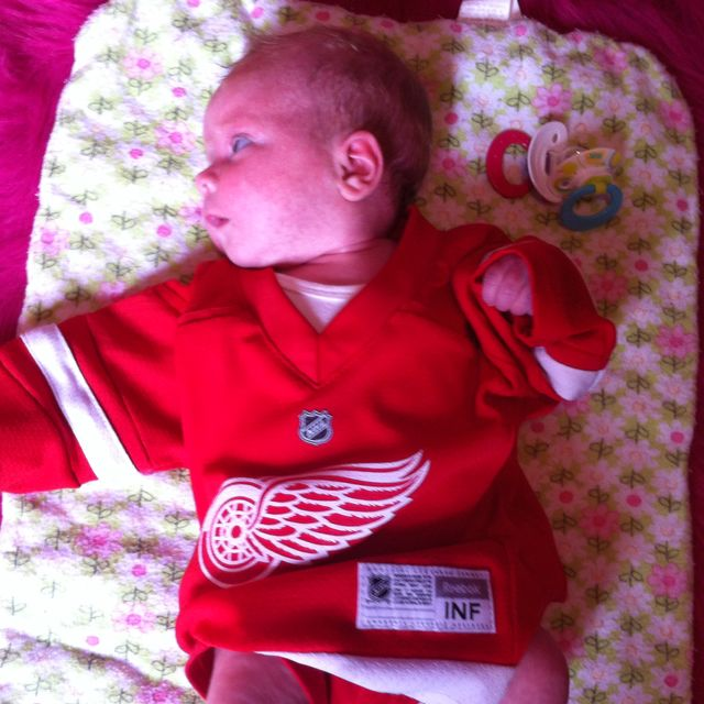 Red Wings baby