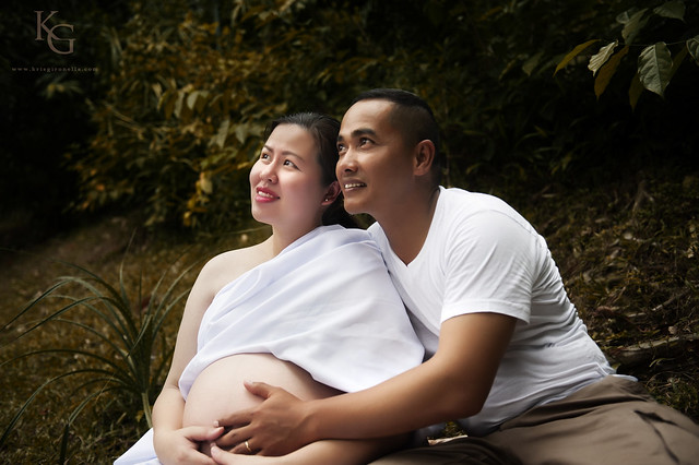 Prenatal Photo Session - Jon and Alice
