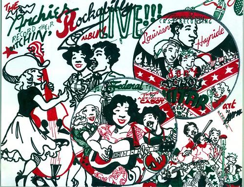 BITCHIN' ROCKABILLY CAST ALBUM0001