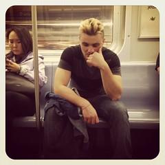 Tuesday night F train. #nyc #nycsubwayportraits #Brooklyn #subway #publictransportation #commute #ftrain