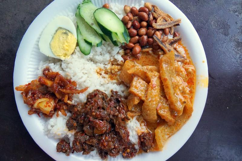 imbi morning market - nasi lemak