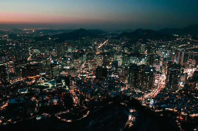 Seoul from Above-1