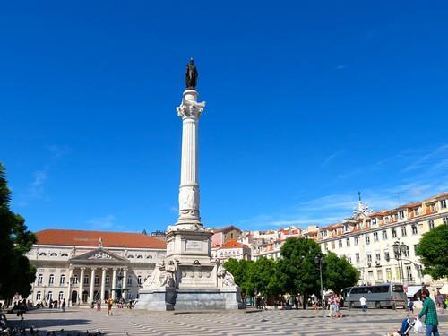 Praca Dom Pedro IV (Rossio square), LIsbon
