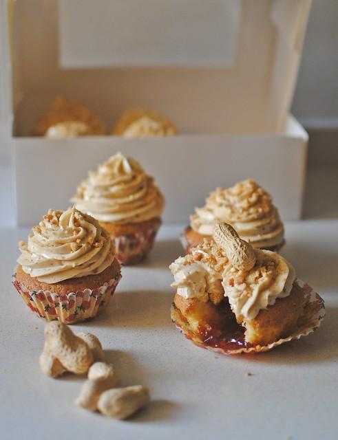 Peanut butter Cupcakes ♥