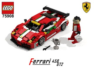 Ferrari 458 GT2 - Lego Nr. 75908 (2015) Recreated