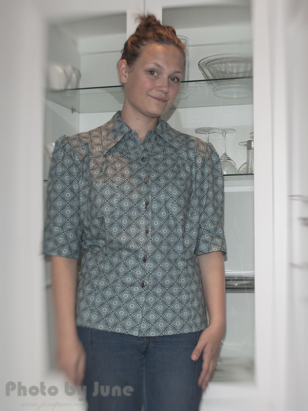 Smooth Sailing 1930s BLOUSE