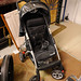 Black fabric and metal buggy