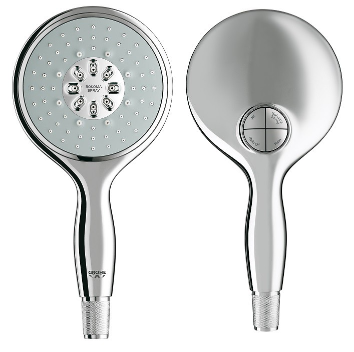 Power & Soul shower set is equipped with a one-click showering switch