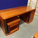 Office desk and pedestal