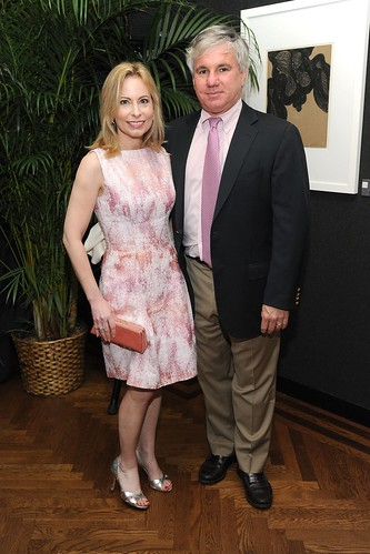 Cornelia Guest, Anne Hearst McInerney, Gillian Hearst and Kimberly Rockefeller hosted 'Charles James: Beneath the Dress' at The National Arts Club