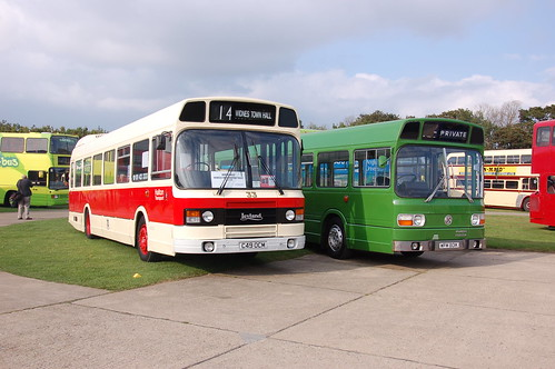 Halton Transport Leyland National II C49 OCM and Crosville WFM 801K (c) Colin Apps