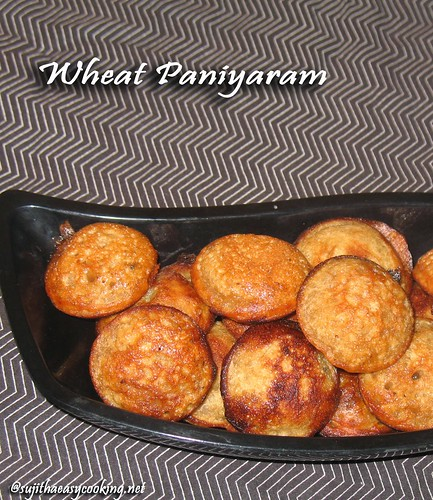 wheat-paniyaram