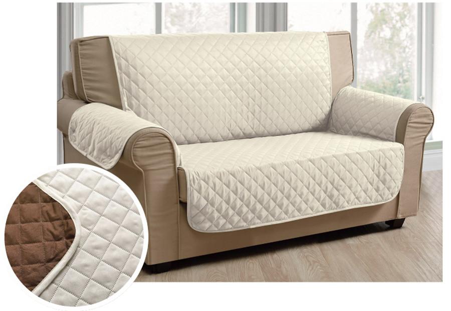 luxury microfiber pet dog reversable loveseat small sofa protector cover ebay. Black Bedroom Furniture Sets. Home Design Ideas