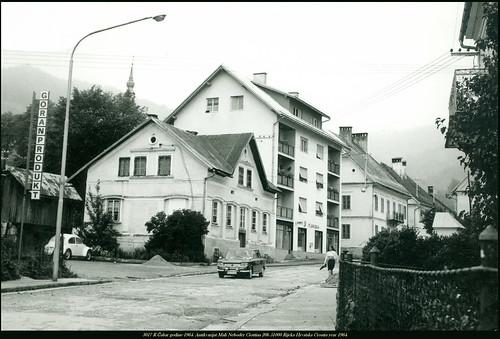 year croatia r mali 1964 hrvatska rijeka 51000 20b 3017 godine neboder čabar antikvarijat ciottina