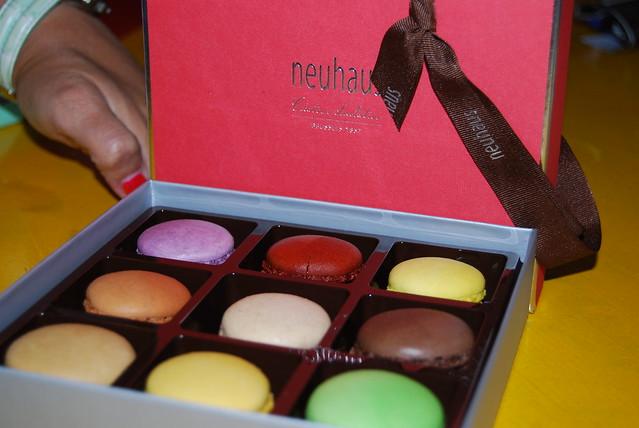 macarons van Neuhaus