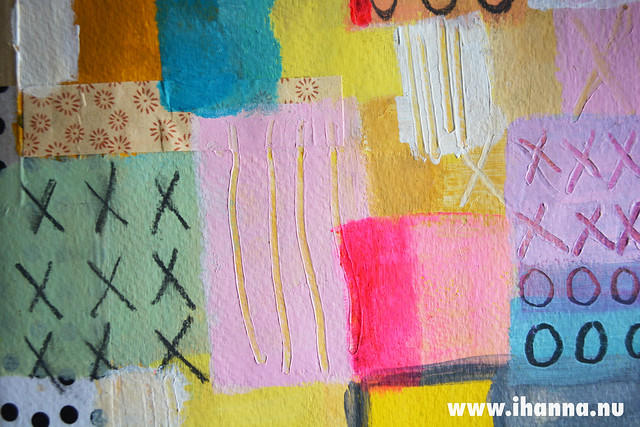 Painted Quilt detail