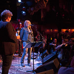 Wed, 01/10/2014 - 7:07pm - Lucinda Williams at Rockwood Music Hall in NYC, 10/1/14. Hosted by Rita Houston. Photo by Laura Fedele.