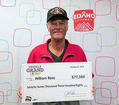 William Ross - $77,380.95 Weekly Grand