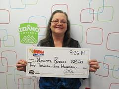 Nanette Robles - $2,500 Mega Millions