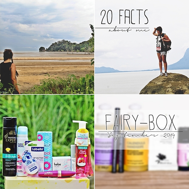 Instagram Rückblick September, Malaysia, Bako Nationalpark, 20 facts about me, Rossmann Schön für mich Box, Fairy Box September