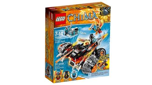 LEGO Legends of Chima 70222