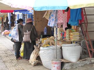 Xigaze Sreet Markets