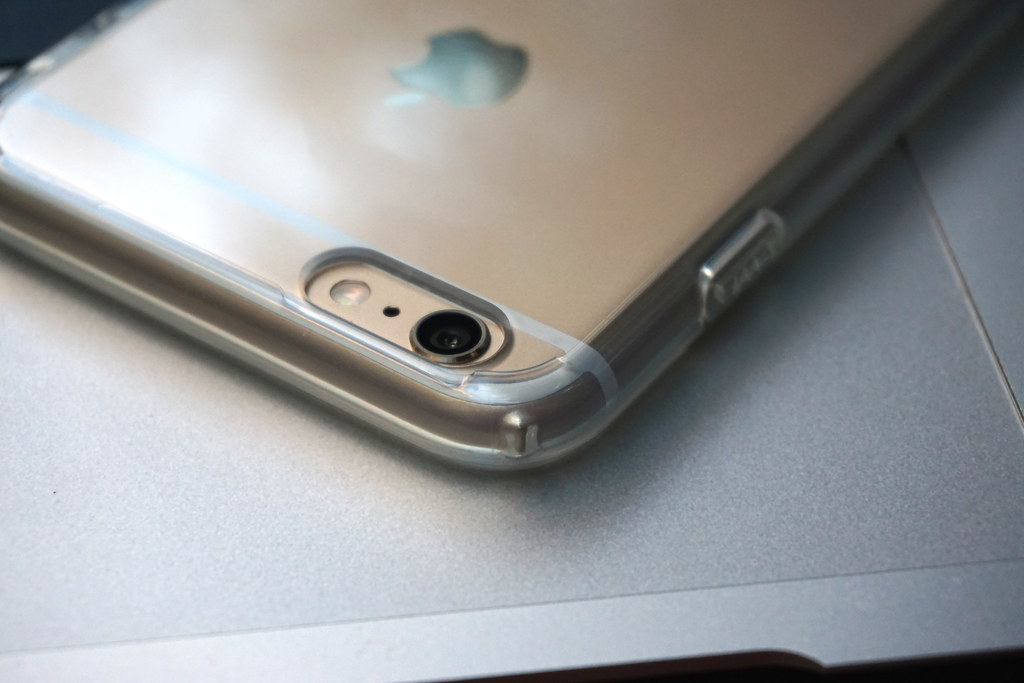 Spigen Case für iPhone 6 Plus: ULTRA HYBRID Crystal Clear