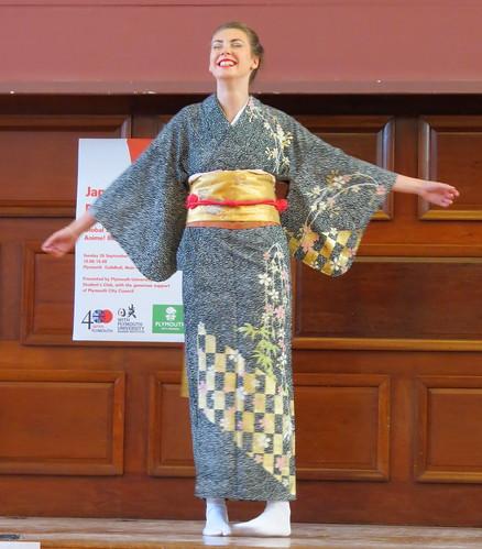 Kimono fashion show by Koji Fukumoto