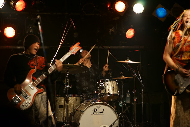 SPUTNIK KOMBINAT live at ShowBoat, Tokyo, 05 Oct 2014. 039