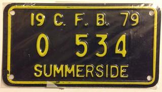 CANADIAN FORCES BASE SUMMERSIDE 1979